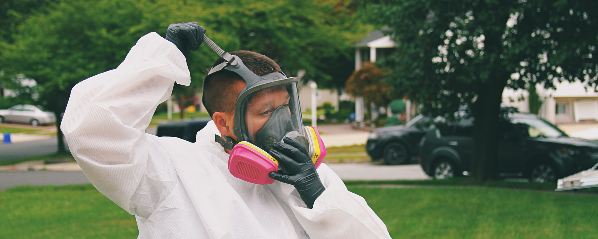 trained technicians for mold removal Mount Holly NJ