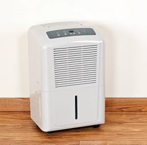 dehumidifier and moisture control