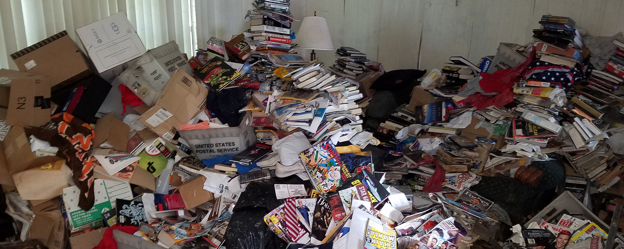 inheriting a hoarder home