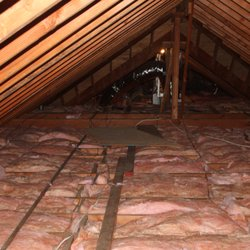 attic insulation prevents HVAC system from overexerting energy