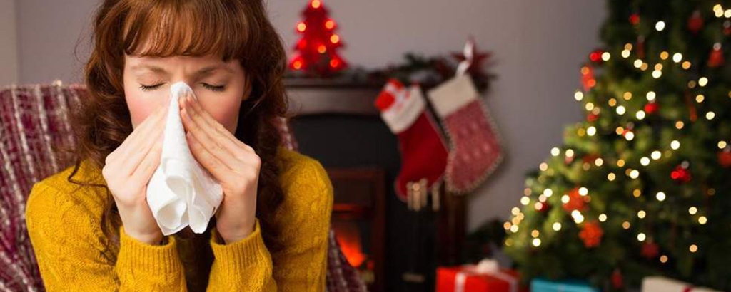 holiday allergies are very common with the amount of unfamiliar allergens one can experience