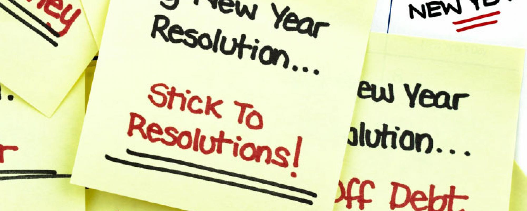 new year's home maintenance resolution