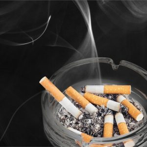 smoking inside causes indoor allergens