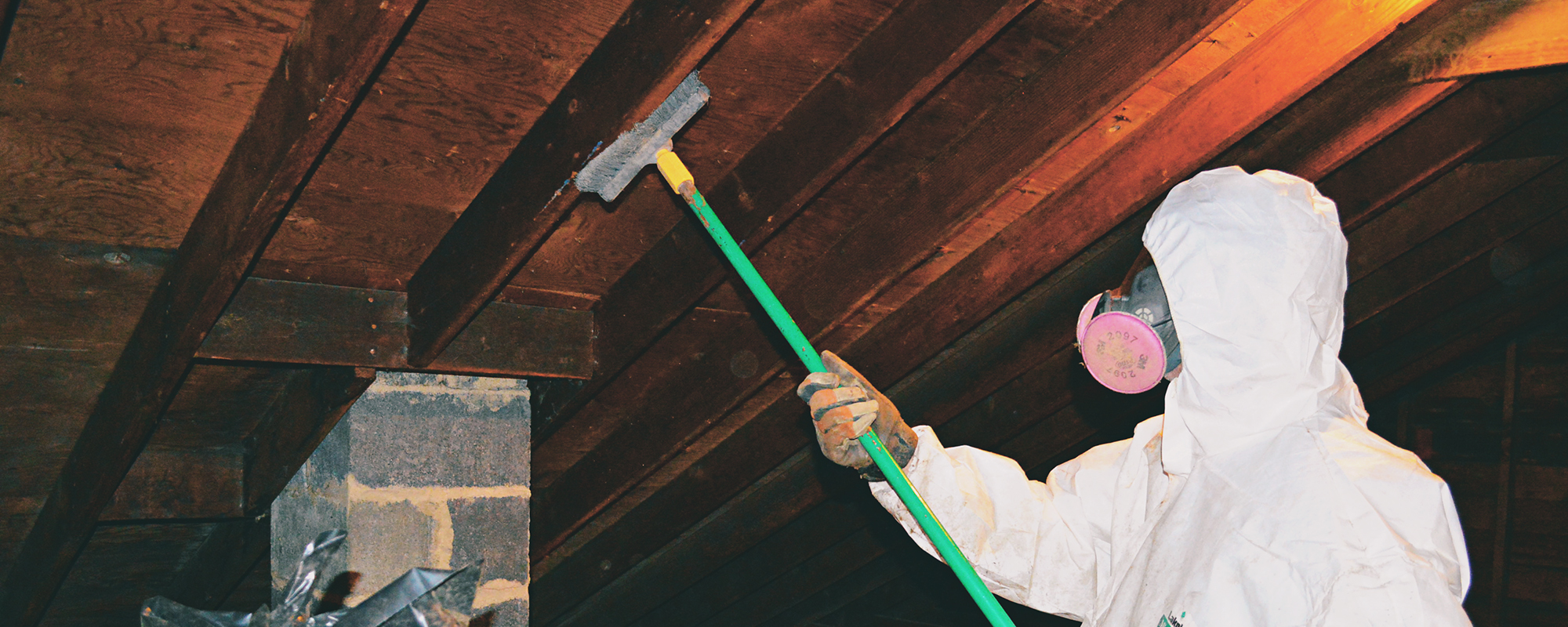 prevent mold on basement or crawl space floor joists